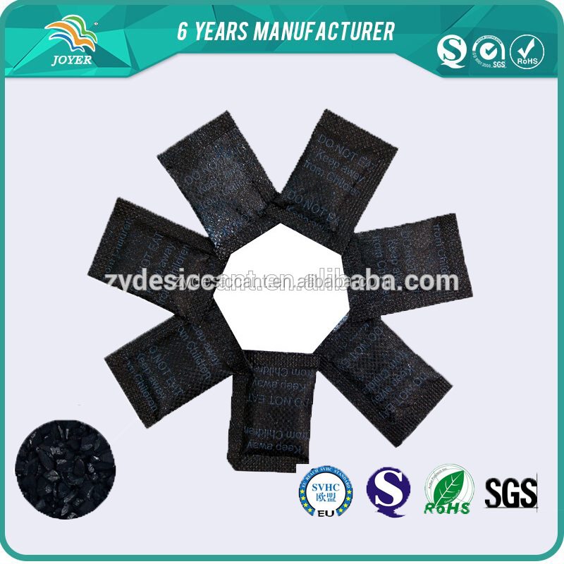 DMF free special shape coconut activated carbon with excellent black paper packed