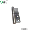 Stainless steel heavy duty spring flat butt furniture hinge