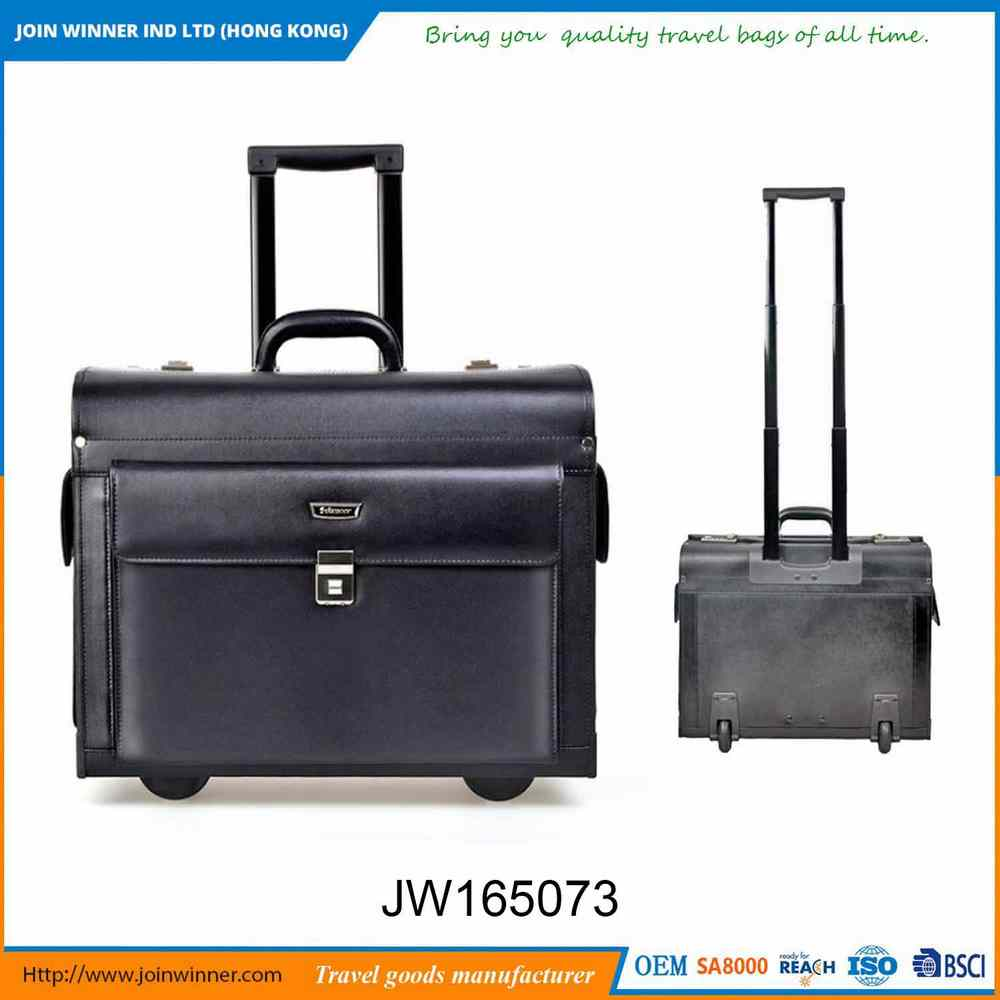 Low Moq High Quality Genuine Leather Briefcase For Adult