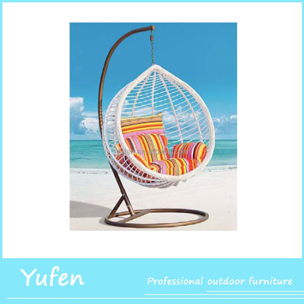 Cheap wicker round hanging bed buy round hanging bed for T shaped swing set