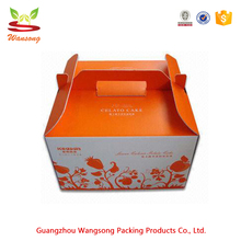 Customized Recycled Folding Paper French Fries Packaging Box