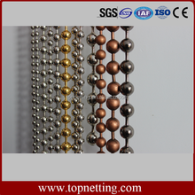 bronze color Decorative metal ball chain bead curtain