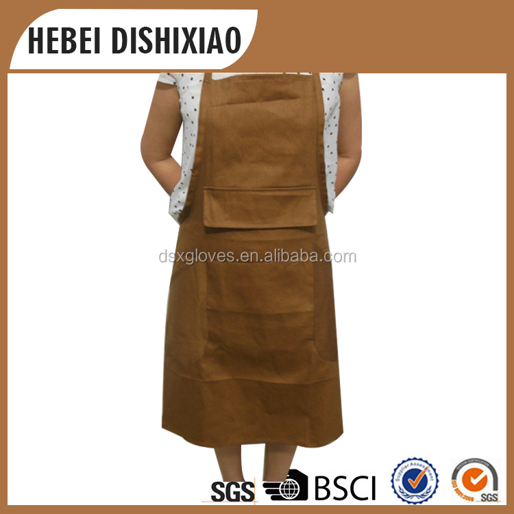 Canvas and Denim Apron Working Apron for Men Heavy Duty Apron