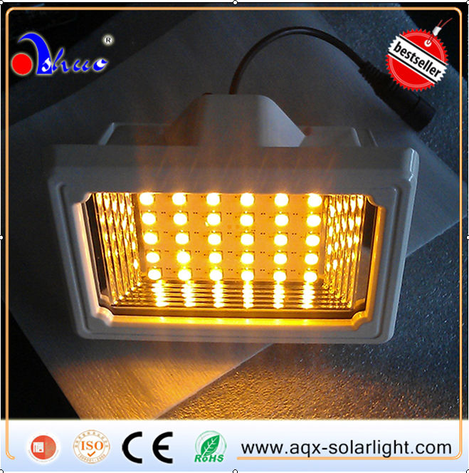 Newest Type!!!!!!! Sloar color changing outdoor led flood light
