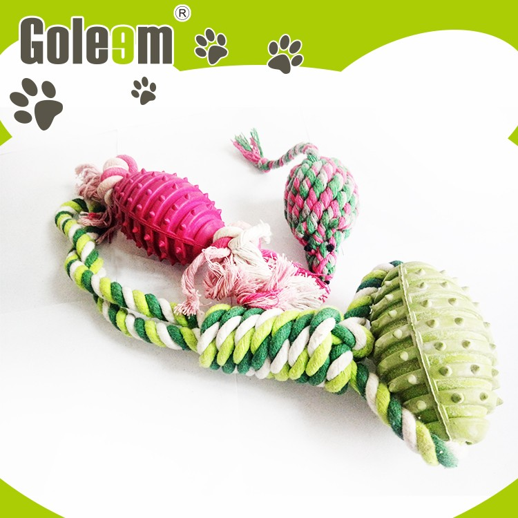 Made In China Superior Quality Hand Woven Dog Cotton Rope Toys