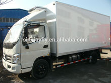 right hand driving flatbed truck mobile workshop truck