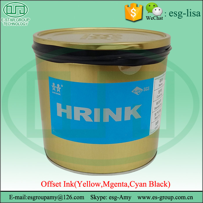 CMKY High Glossiness and Quick Set Plastic Bag Printing Ink