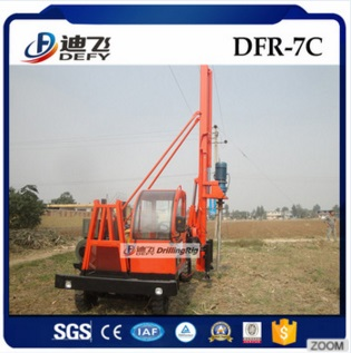 DFR-7C Crawler Mounted Diesel Pile Hammer for Solar Energy,Photovoltaic PV system