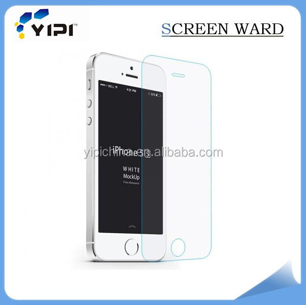 High quality clear tempered glass screen protector/screen guard for mobile phone/TV/laptop/PDA