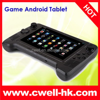 android game console Tablet PC Android 4.2 RK3188 Quad Core 7 Inch 1GB 16GB 3D GAMES G-Sensor GPD G7