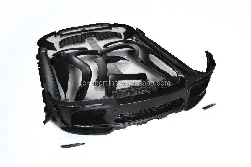 H Style Fiber Glass Wide Body kit for BMW X6