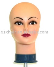 The cheap used mini female mannequin wig heads