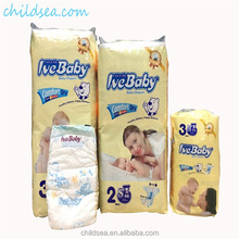Soft care breathable high quality diapers disposable baby, disposable sleepy baby nappy manufacturer in China