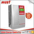 air cooling MUST brand high quality MPPT solar controller 20A 30A 40A