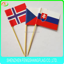 wholesale high quality decoration cake pick flag
