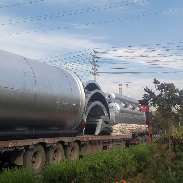 waste tire pyrolysis fuel oil equipment