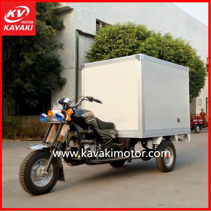 Food-handling insulation can zongshen China 3 wheel truck motorcycle car