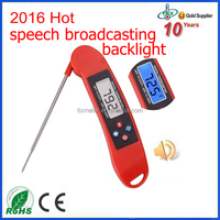 Wholesale Price Food Thermometer, Accuracy Food Thermometer, BBQ Barbecue Food Thermometer