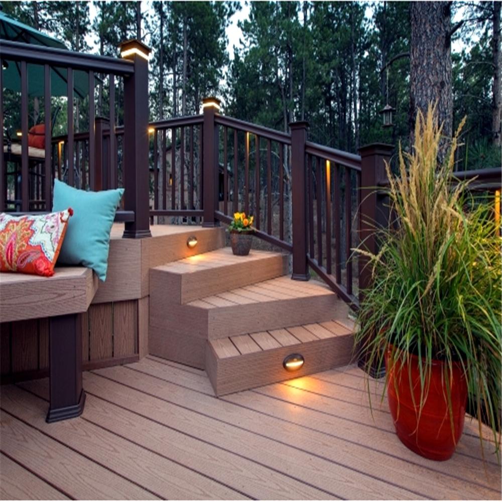 Recycled materials floor deck wood plastic floor decking for Recycled decking material