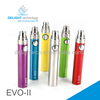 low price wholesale evod 650mah,900mah, 1100mah variable voltage battery evod II battery