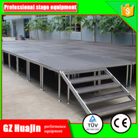 1.22x1.22 1.22x2.44m outdoor concert stage sale