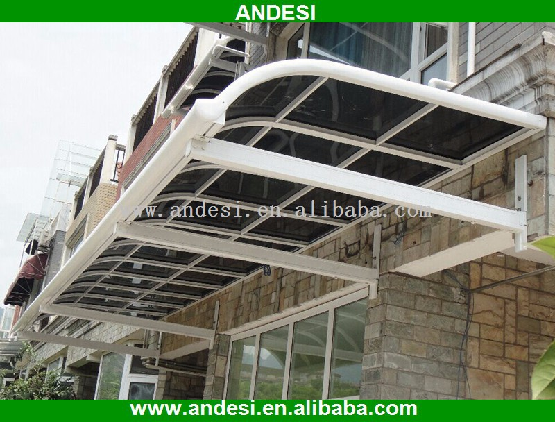 Clear Plastic Outdoor Glass Awnings - Buy Outdoor Glass ...