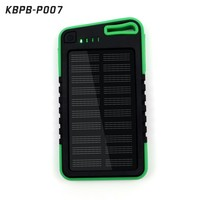 2016 water proof External battery charger led portable power bank 5000 mah