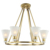 Modern European style chandelier lighting with earrings in dubai