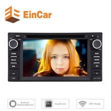Android 6.0 Stereo in Dash 2din Car DVD Player GPS Navigation BT Wifi FM/AM/RDS Mirror Link OBD2 SWC for Corolla EX 2008-2013