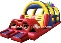 New design inflatable obstacle for adult
