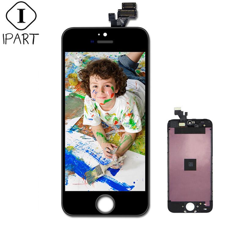 Replacement suitable for apple iphone 5 lcd 4 4g 4s 3g 3gs lcd display digitizer full assembly with touch screen black and white