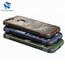 hot sale camouflage armor TPU+PC cell phone case for iPhone 7