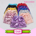 Sparkling baby girls sequin shorts summer fashion sequin shorts wholesale girls