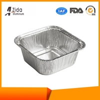 Direct Factory Price promotional aluminum foil containers for cosmetic