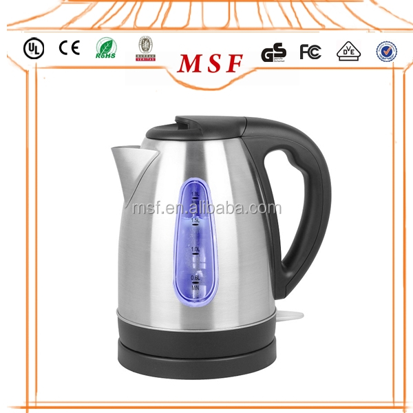 Electric Stainless Steel Kettle with Electric Kettle Thermostat