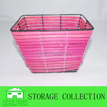 handwoven decorative rattan cheap basket