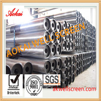 "High quality!1""-50""johnson stainless steel water well screen/Wedge wire screen /Water filter for drilling water well"