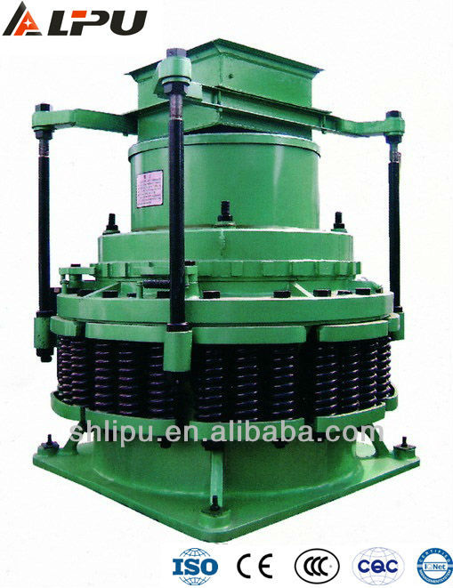 China Leading Gold Mining Equipment Spring Cone Crusher