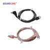 Professional black 3pin power cord hearing aid parts suppliers