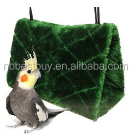 Parrot Bird Plush Tent Bed Bunk Parrot With Buckles Bird Toy Toys