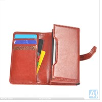 Acc4s 3.5 inch universal smartphone wallet wallet leather case for iPhone 4/4S P-UNI35CASE001