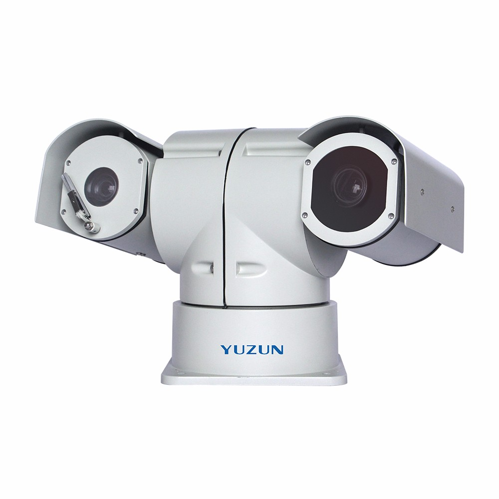 1080P outdoor network varifocal Laser IR speed PTZ camera