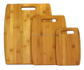 3 -piece Bamboo cutting board set