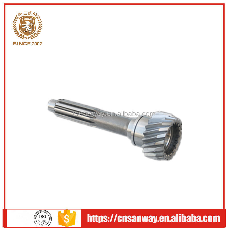forging steel spur gear shaft with directly factory price