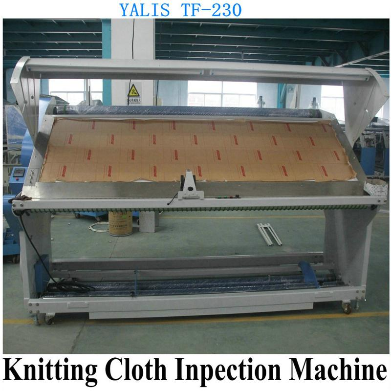 Plastic fabric inspection machine/fabric inspection and rolling machine with fabric finish machine made in China