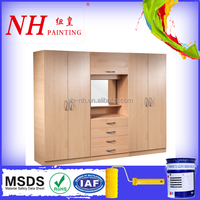 PU Solid Color Wood Furniture Paints for wardrobe