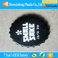 OEM Large round outdoor vacuum formed ABS advertising boards /sign