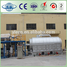 continuous waste plastic pyrolysis machine
