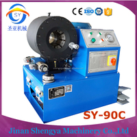 Mexico high standard green house engineering equipment hydraulic hose crimping machine air suspension rubber