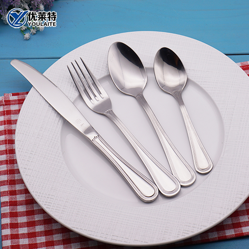wholesale tableware Fancy Promotional cutlery of stainless steel
